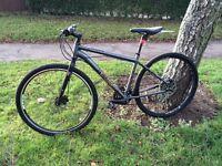 Voodoo marasa hybrid hydraulic bike