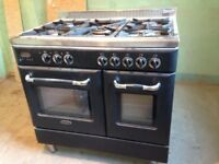 Terim, electric stove with gas hob, in good condition