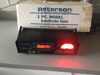 PETERSON AUTOSTROBE STRETCH 490-st tuner