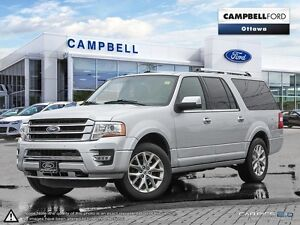2016 Ford Expedition Max Limited BEST BUY-LOADED-AWD-ONE OWNER