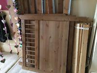 Hemnes bunk beds no mattresses