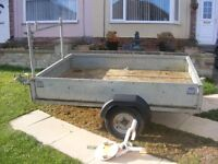 FAB SERVICES 7ft x 5ft TRAILER