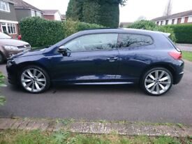 VW Scirocco 2.0 R Line 2.0, 174bhp, 34000miles, 2 previous owners, 1yr MOT, FSH, SAT NAV, Leather