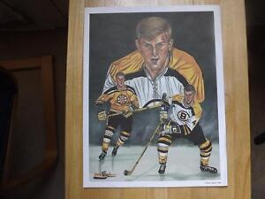 """FS: 1992 Classic Sports """"Bobby Orr"""" Limited Edition Print London Ontario image 1"""