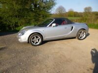 Toyota MR2 April 03 long MOT