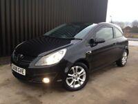 2008 Vauxhall Corsa 1.2 i 16v SXi 3dr Service History, 12 Months MOT, 1 Month Warranty, May PX