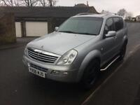 My rexton 2/4wd sell swap px