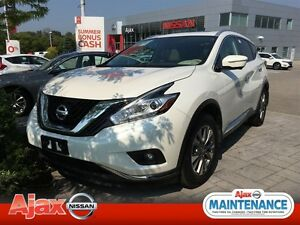 2015 Nissan Murano SL*Pearl White*Accident Free
