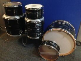 Premier Olympic Vintage Drum Kit (6 piece w/snare, 14&16 floor toms, mahogany shells)