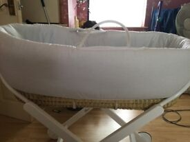 Stunning Zara Moses basket and stand