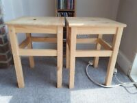 2 childrens stools. BARGAIN!!!!!