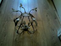 Brushed Gold Ceiling Light Fitting