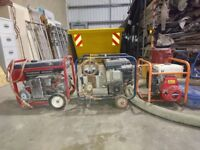 3 generators for sale