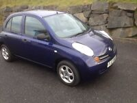 Lovely Micra drives like new (not polo, 206,clio,corsa,fiesta)
