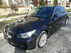 2008 BMW 5 Series 528i, LOW KMS, CERTIFIED, NO ACCIDENTS, SUNROO