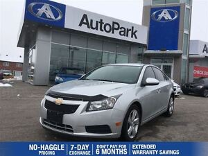 2014 Chevrolet Cruze LEATHER/REARVIEW CAMERA/ALLOYS/CRUISE