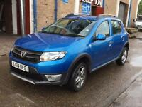Quick Sale 2014 Dacia Sandero Stepway Laureate Tce Eco0.9 (898cc)petrl 14000mile 1Yr Mot Navi Manual