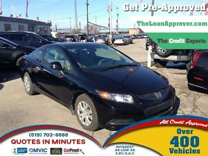 2012 Honda Civic LX (A5) * CAR LOANS THAT FIT YOUR BUDGET