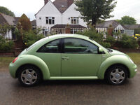 VW BEETLE 2 OWNERS FROM NEW FULL SERVICE HISTORY NOT NOVEMBER ALLOY WHEELS LEATHER CD PLAYER AIR CON