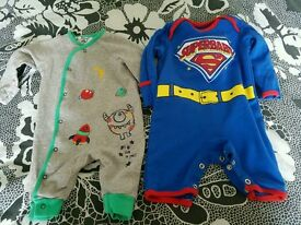 Baby boys rompers 0-3months