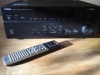 AV receiver Yamaha RX-V673 7.2 5.1 4K Home Cinema Amplifier