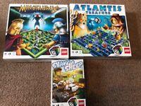 3 Lego games