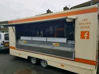 16ft towability purpose built catering/chip van