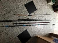Fishing rods and bits
