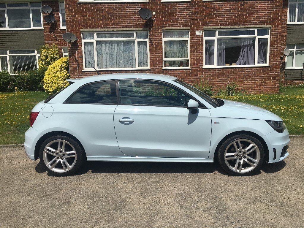 audi a1 s line cumulus blue manual tdi in sidcup. Black Bedroom Furniture Sets. Home Design Ideas