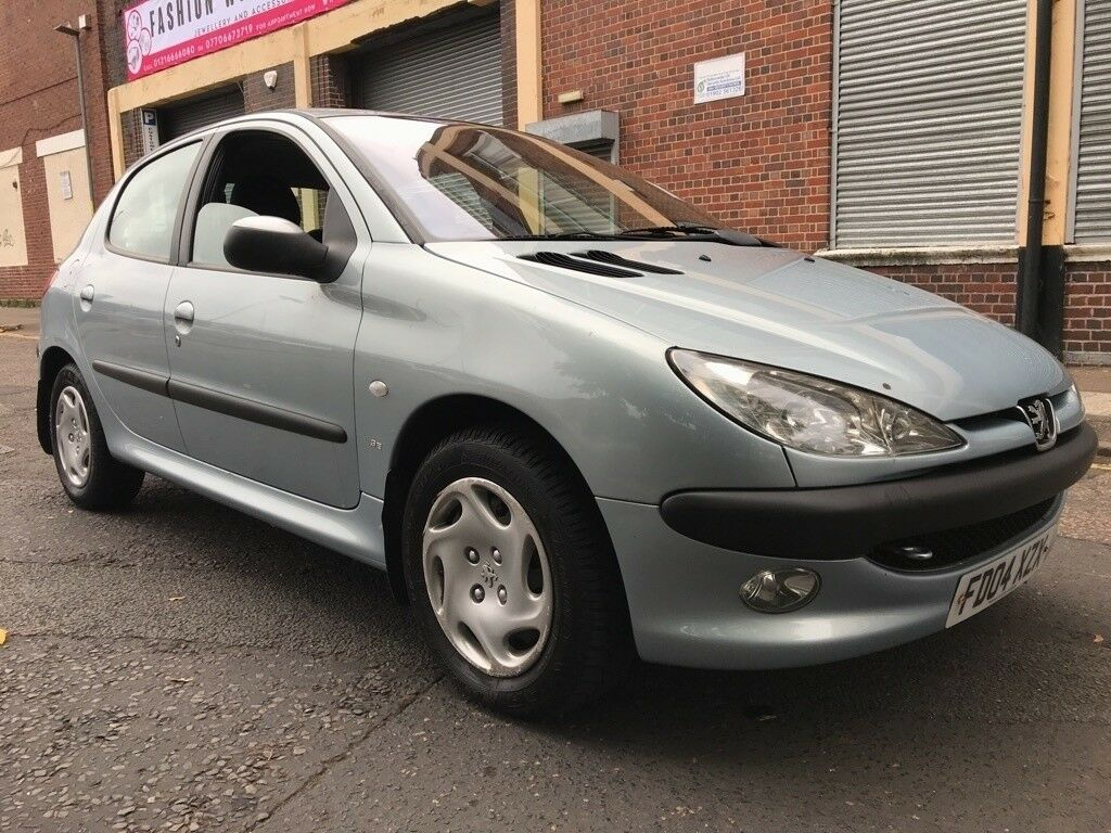 Peugeot 206 2004 2.0 HDi SE 5 door (ac, cruise control) CHEAP RUNNER, DRIVES GOOD, LONG MOT, BARGAIN