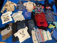Boys clothing mixed designer age 1-2years