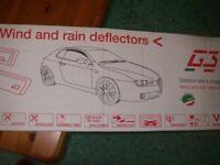 Renault Clio Wind/Rain deflectors
