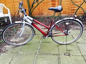 Woman's Bike For Sale New chain New tubes Good tires Seat height cannot be adjusted