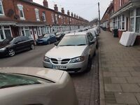 Hi here is my nissan almera for sale long mot and 1st to see will buy for the sum off £400 ono