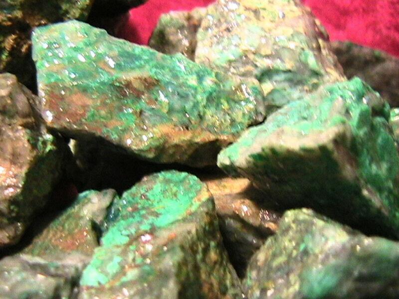TUMBLER ROCKS Chrysocolla Half Lb Stones Rock Tumbler