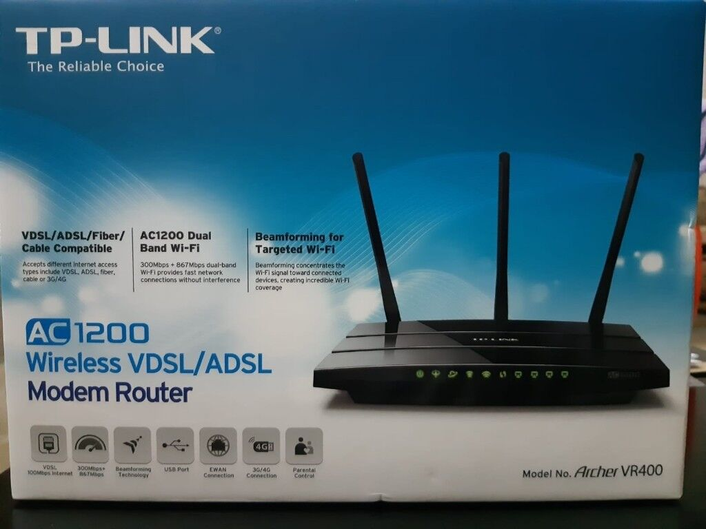 BRAND NEW TP-LINK MODEM/ROUTER | in Bradford, West Yorkshire | Gumtree