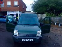 Ford Transit Conect,,1 owner , Green, lwb 1.8 tdci 74,000 miles manual good condition Mot 1-4-17