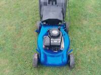 Big petrol push lawnmower