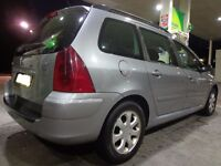 2005 peugeot 307 2.0 hdi diesel estate with mot cheap tax and FREE DELIVERY OR DRIVEAWAY