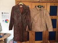 Women's medium leather jackets job lot