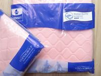 2 PREMIUM BED PADS IN SEALED PACKS