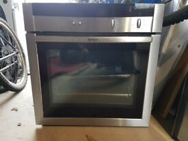 Neff oven and warming drawer