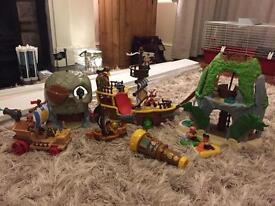 Disney Jake And The Neverland Pirate Toys