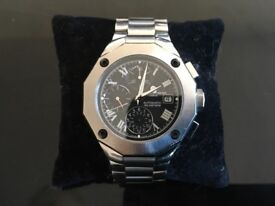 Baume & Mercier Men's 8669 Riviera Black Chronograph Reduced to £1000 for quick sale.