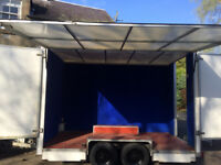 Large exhibition trailer also suitable for conversion for catering/outside bar/market trader