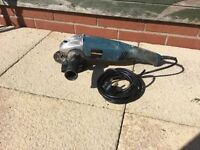 Work zone angle grinder