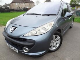 2007 Peugeot 207 1.6 Diesel - ONLY 78000mls - MOT 24th May 2019