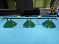 Snooker table lights for sale