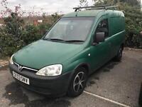 Vauxhall Combo Van 2003, 1.6 Petrol/LPG Spares/repair