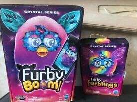 Furby Boom Crystal Series and Furby Furbling